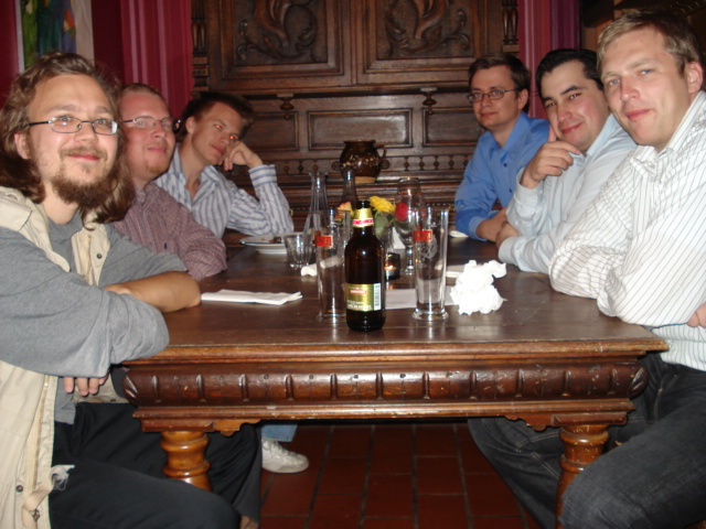 Kristian Aaltonen, Vincent Andréasson, Erik Karlsson, Henric Bergenwall, Said Outgajouft och Andreas Persson