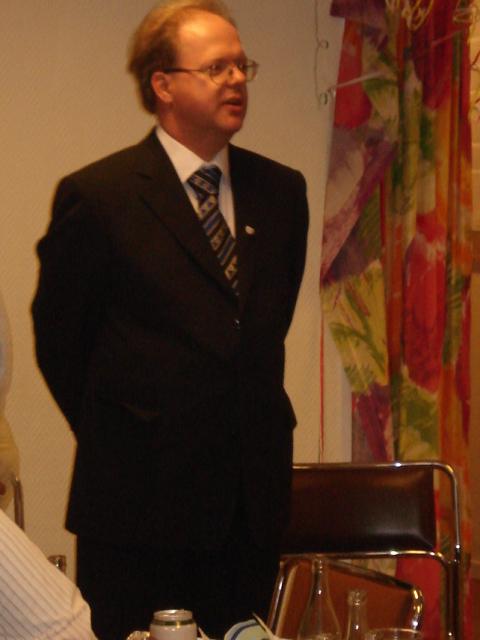 Mats Eriksson förenade förflutet och framtid i sitt anförande