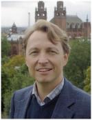Ari Ziegler, 40, erhöll Collijn-plaketten i silver vid Göteborgs Schackförbunds årsmöte
