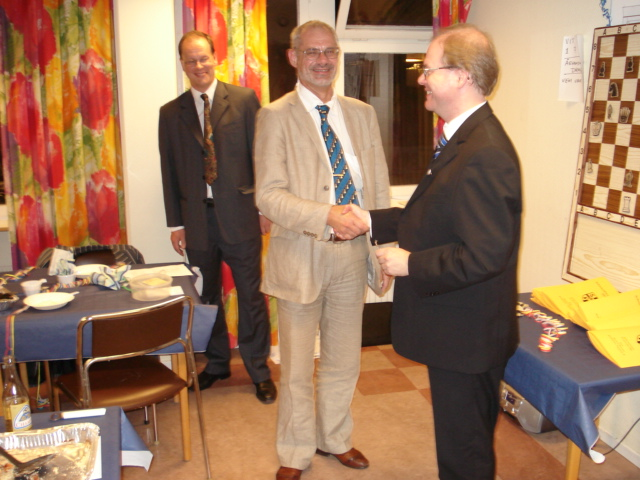 Mats Eriksson, 48, erhöll Collijn-plaketten i silver