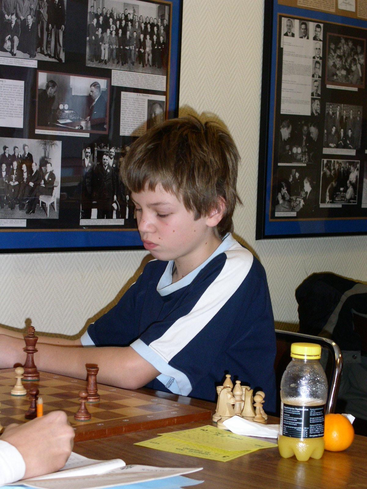 Carl Eidenert, en av tävlingens två 95:or