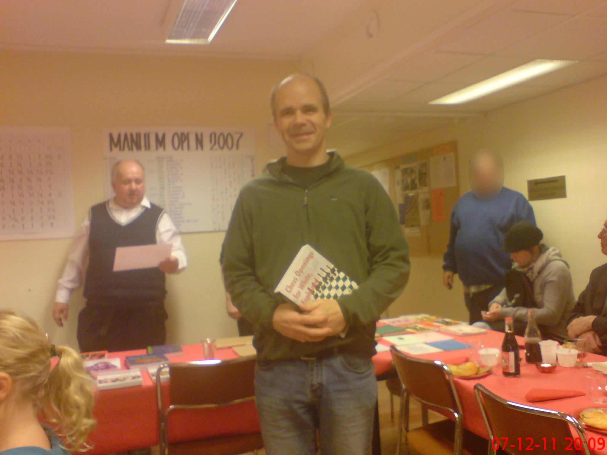 Nye medlemmen Leif Persson vann Höstfajten