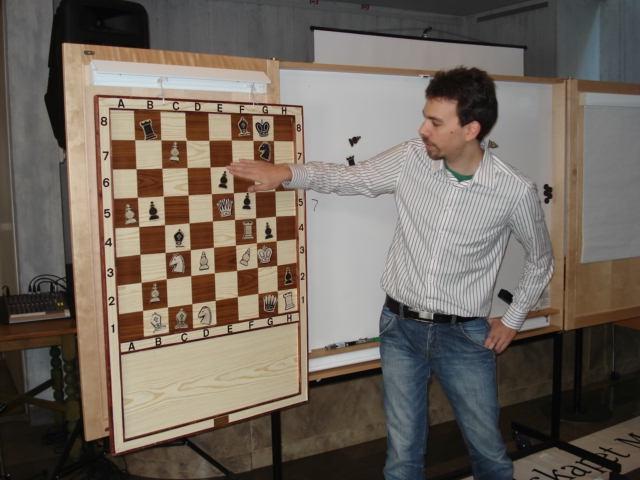 David visar en bisarr ställning ur schackspelets historiska annaler.