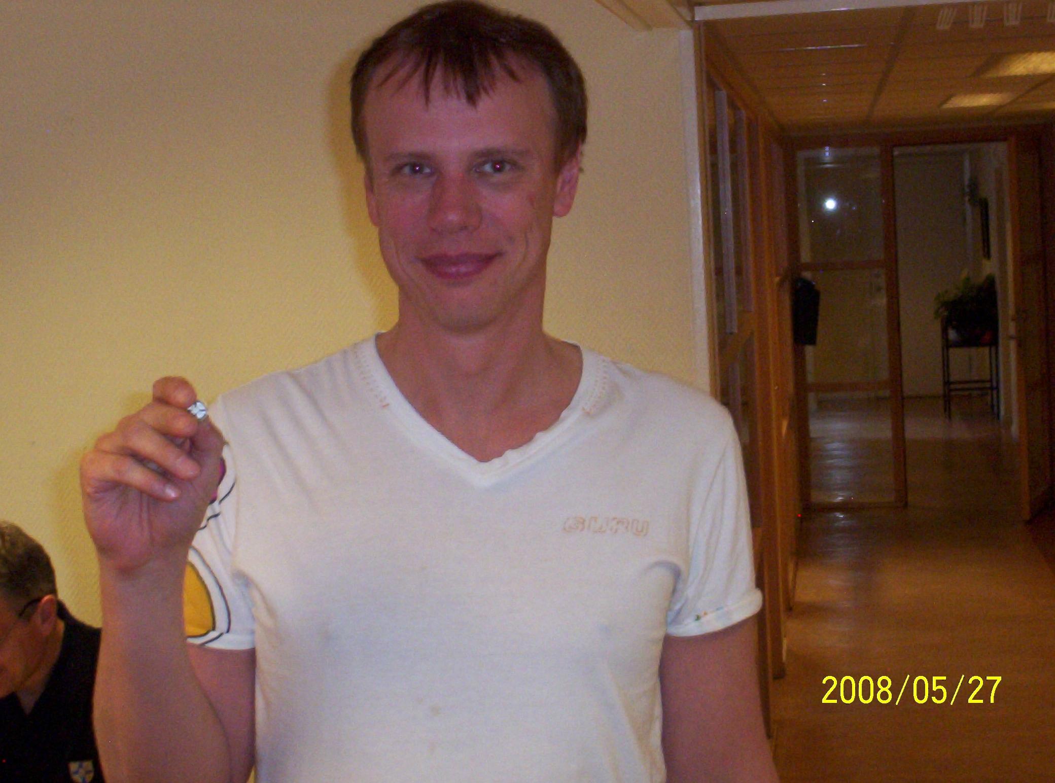 Veteranmärket i brons: Björn Holmgren, 10 år som manhemit.