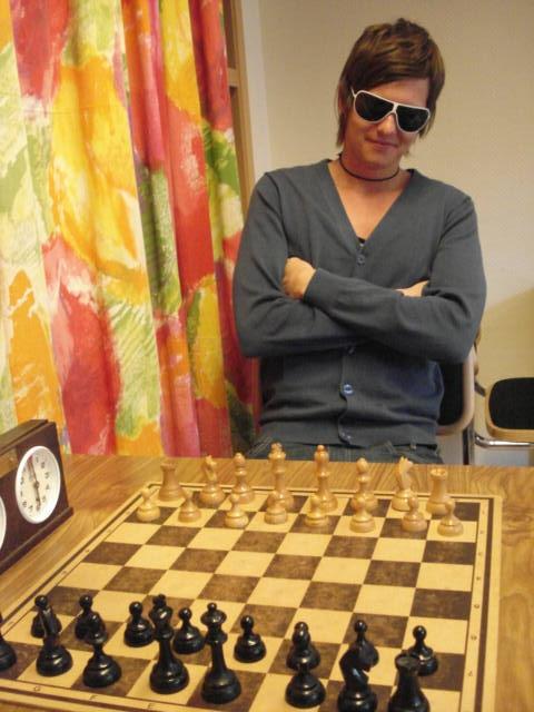 Schack är ingenting för mesar.