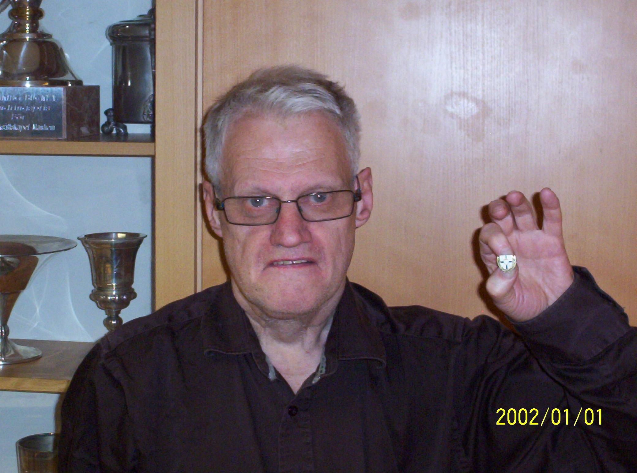 Veteranmärket i brons: Per-Axel Persson, 11 år som manhemit.