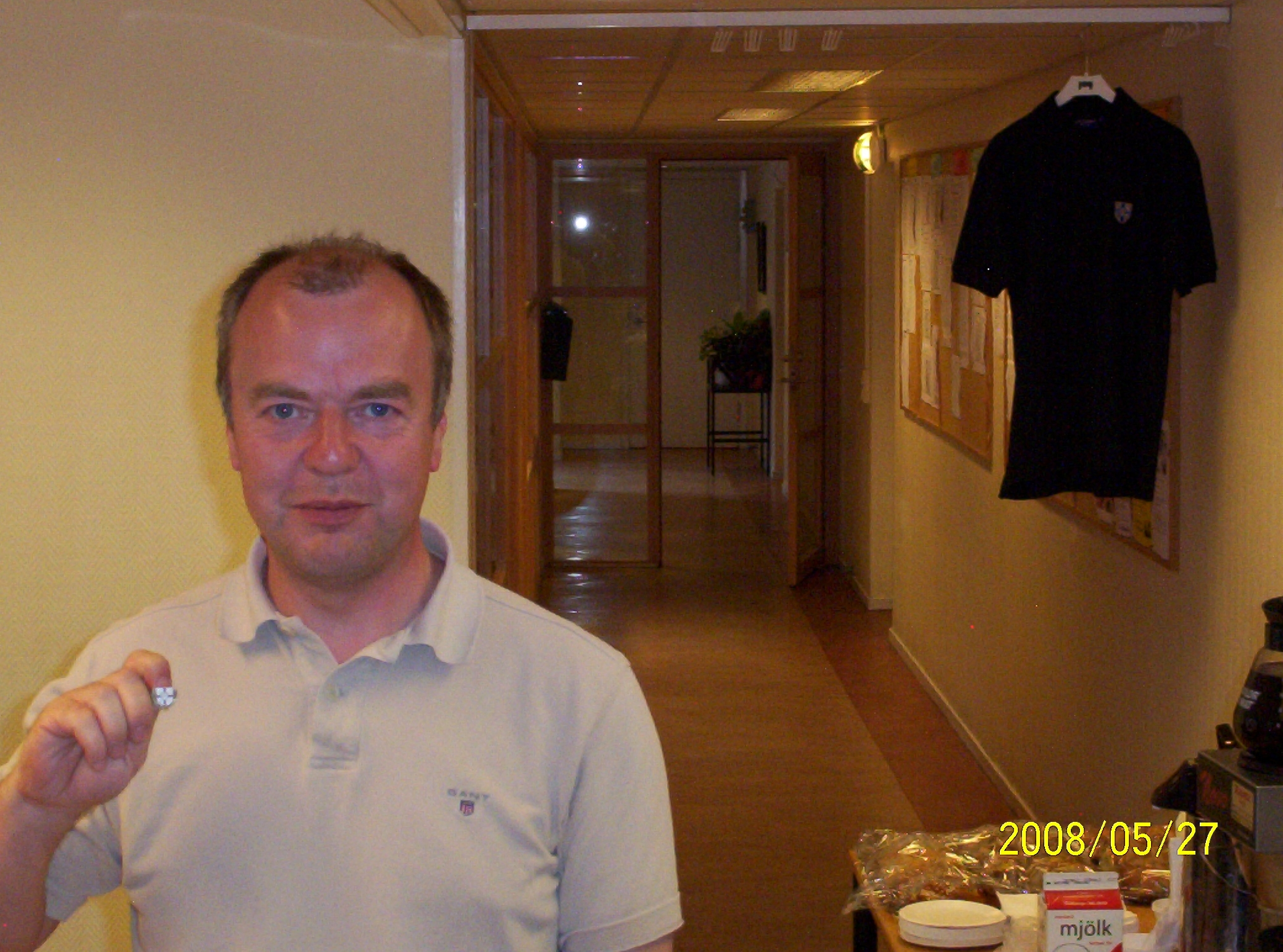 Veteranmärket i brons: Roy Johansson, 18 år som manhemit.