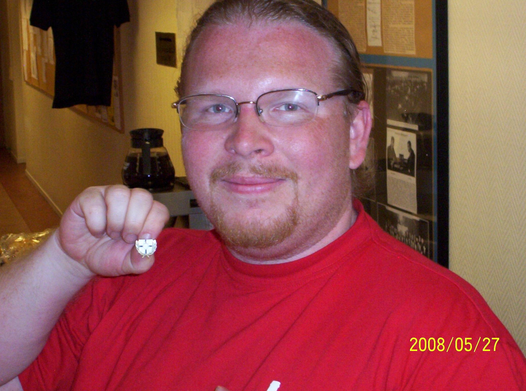 Veteranmärket i brons: Vincent Andréasson, 18 år som manhemit.