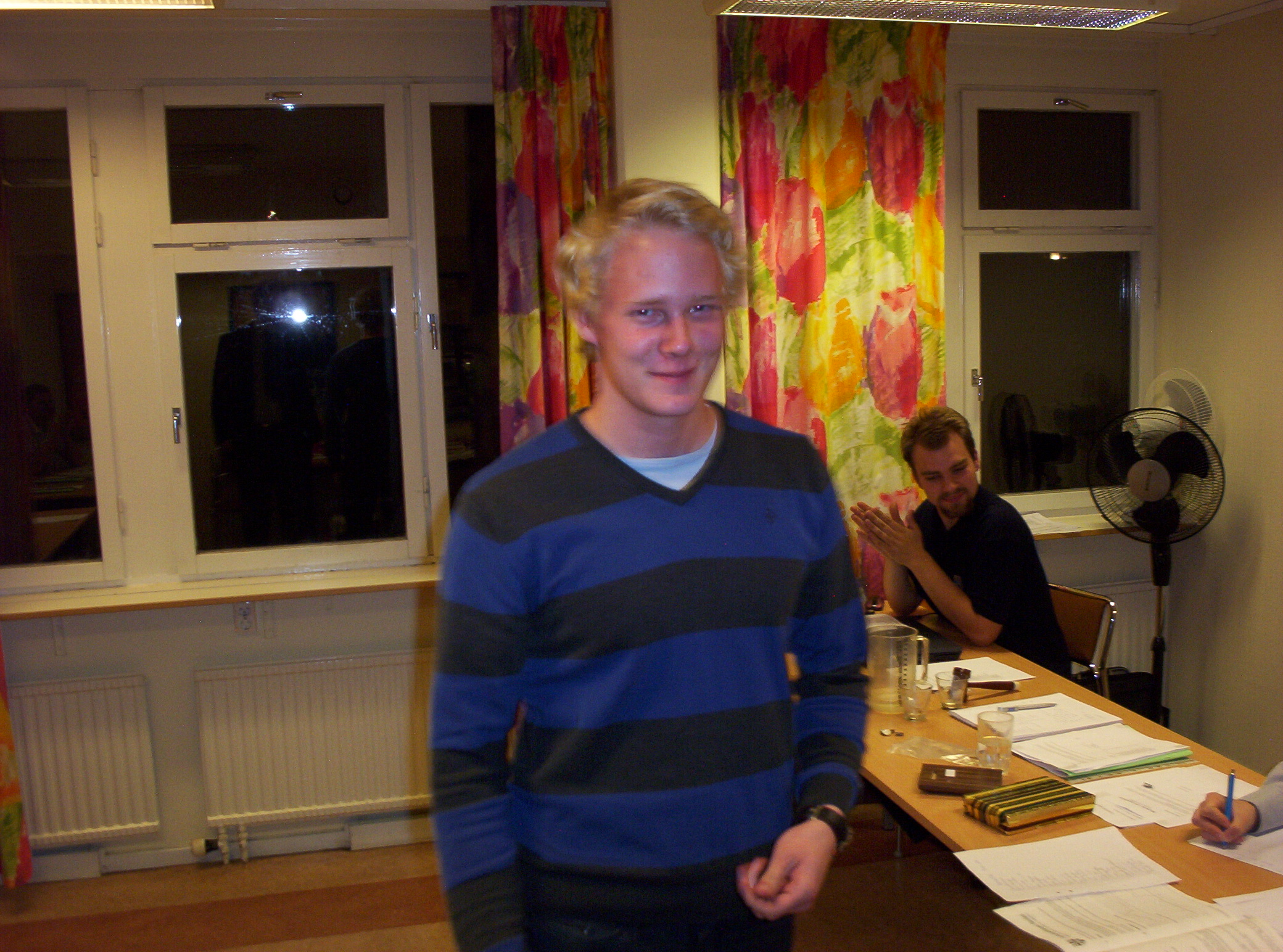 Veteranmärket i brons: Alexander Heino, 10 år som manhemit.