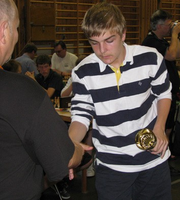 Nia i kadettklassen: Harald Berggren Torell