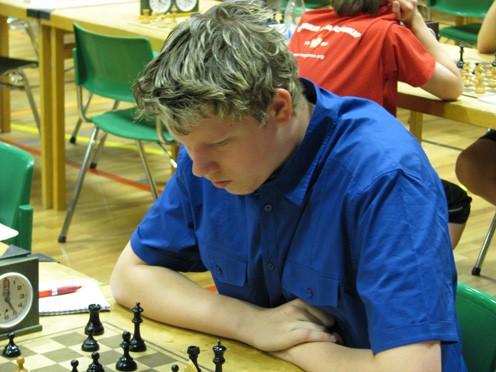 Silver i Kadett-SM: Johan Hansson