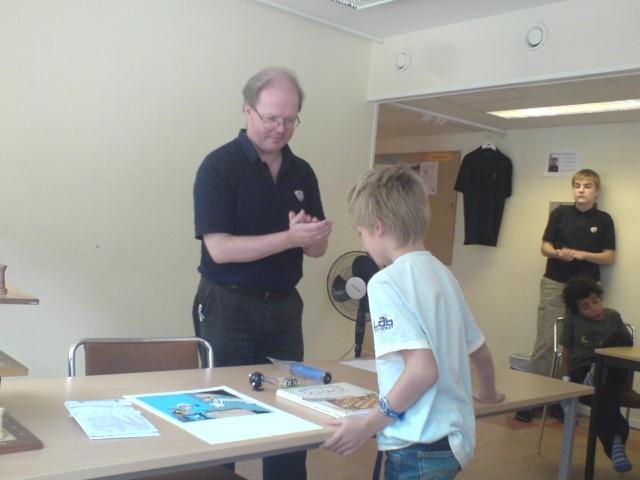 Trea blev Jonas Persson från skolschacket i Annedal