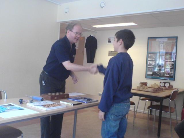 Ny klubbmästare för knattar: Leonardo Aira