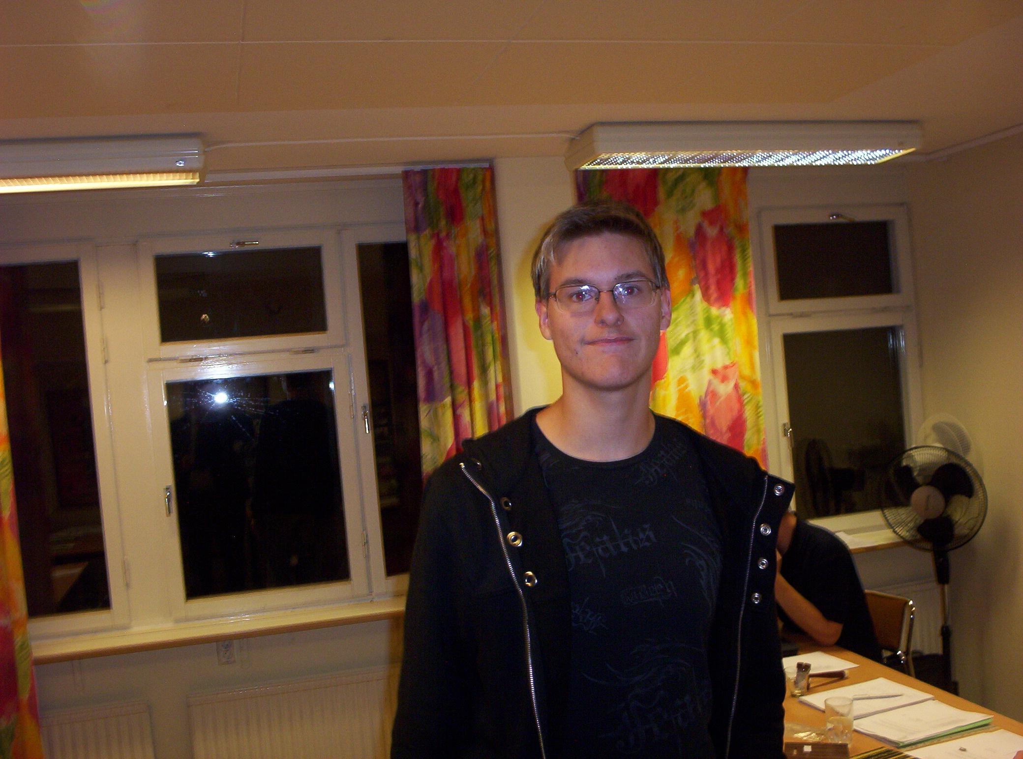 Veteranmärket i brons: Wictor Olsson, 11 år som manhemit.
