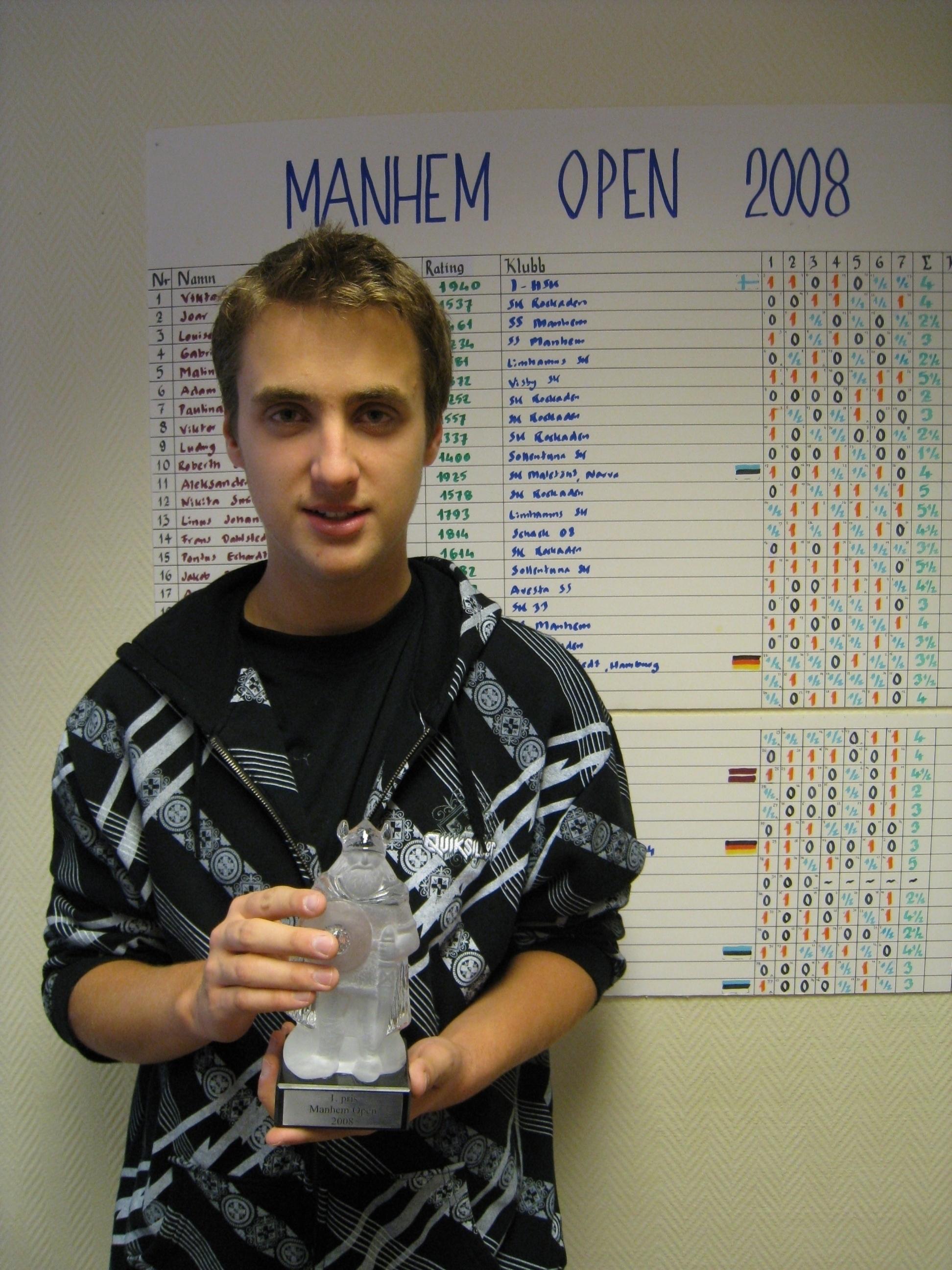 Johan Hansson vann sin hittills största framgång med ett silver i B-klassen.