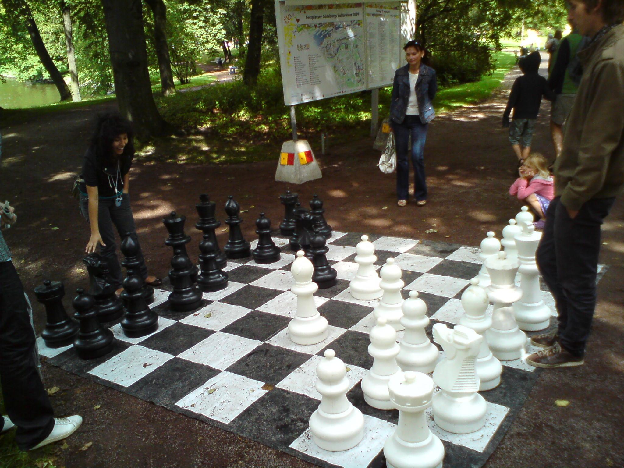 Vårt storbräde fick än en gång träda i Manhems och schackets tjänst.