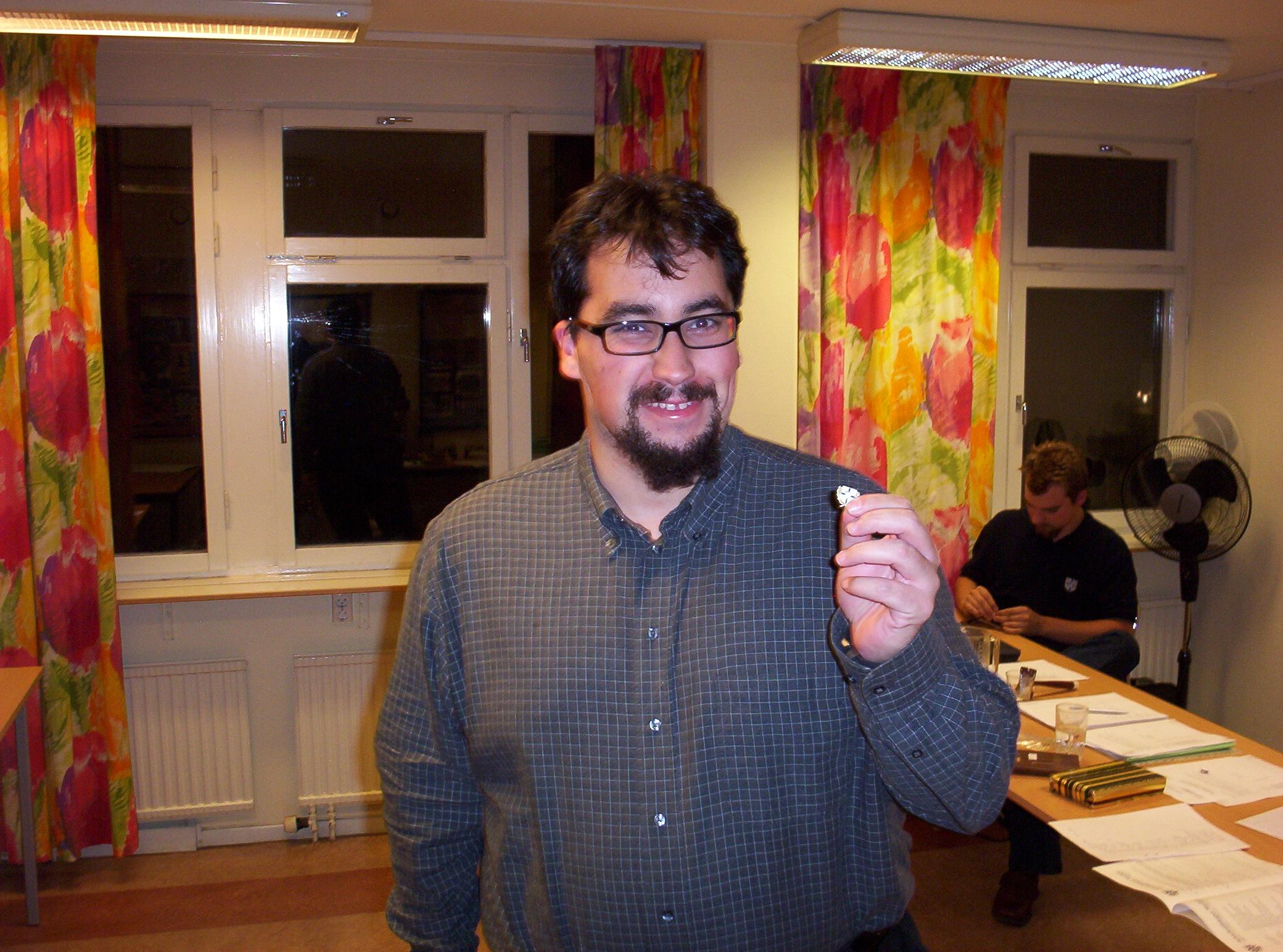 Veteranmärket i silver: Said Outgajjouft, 20 år som manhemit.