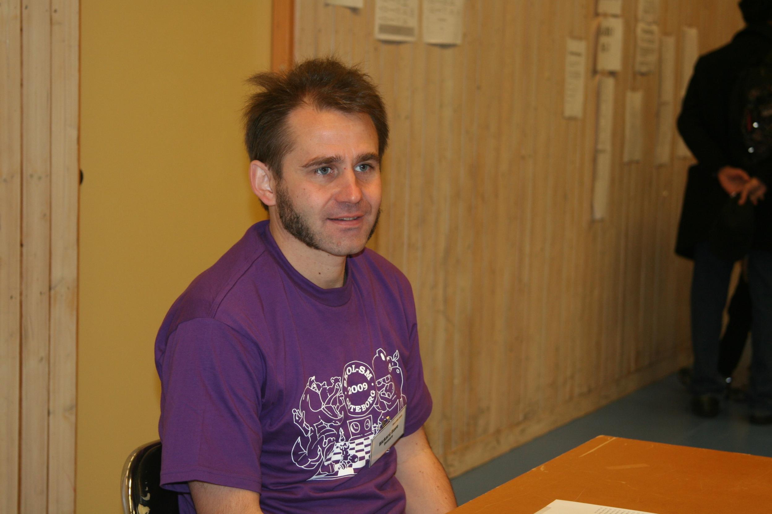 Manhems tidigare tävlingsansvarige, numera ungdomstränare: Rickard Dave