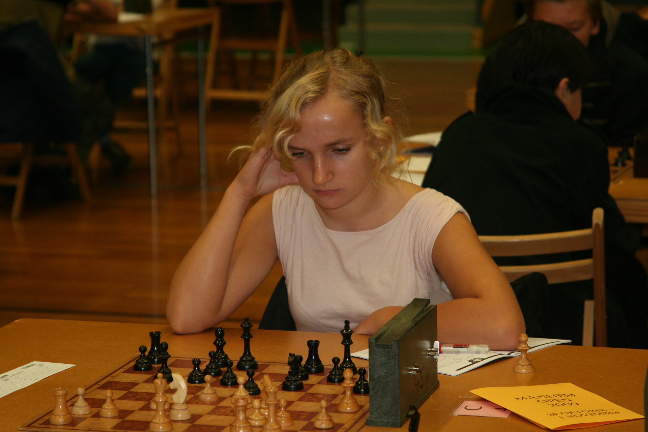 Ett steg mot toppen: Louise Segerfelt sexa denna gång.