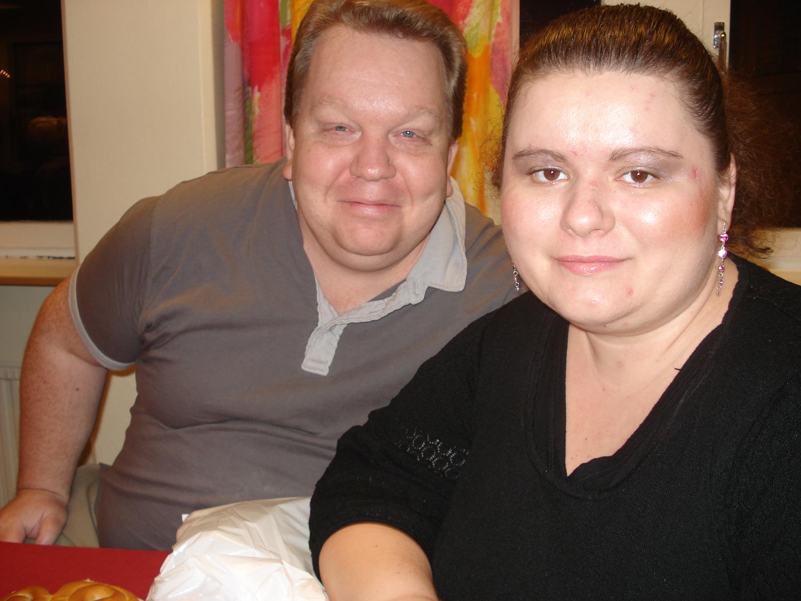 Segrare i Öppna gruppen: Stefan Klang, här med hustrun Veronika, elva i Lilla gruppen.