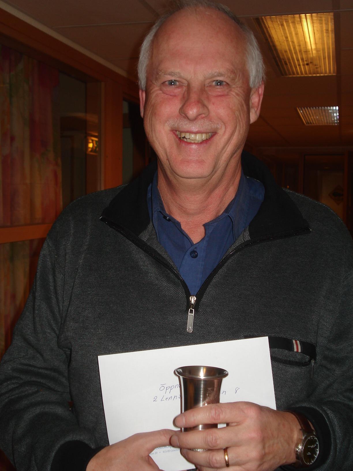 Tvåa i Öppna gruppen: Lennart Hansson.