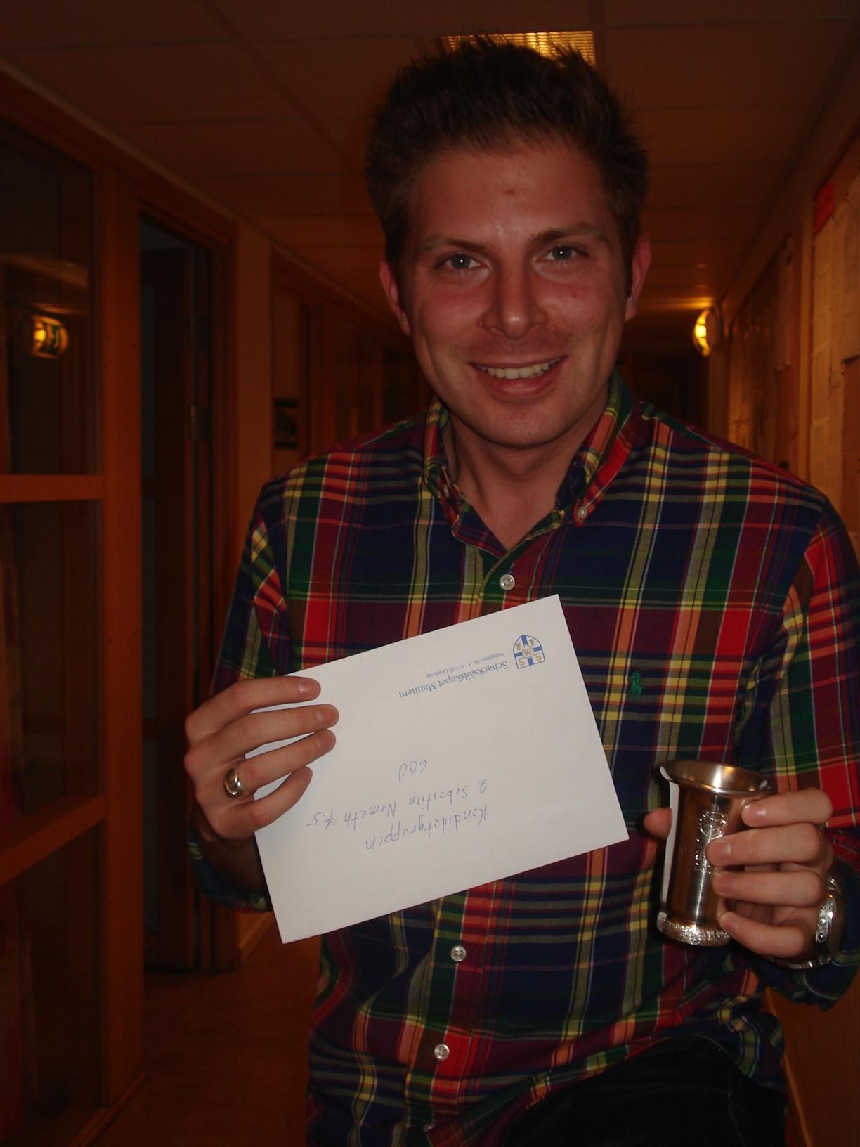 Tvåa i Kandidatgruppen: Sebastian Nemeth.