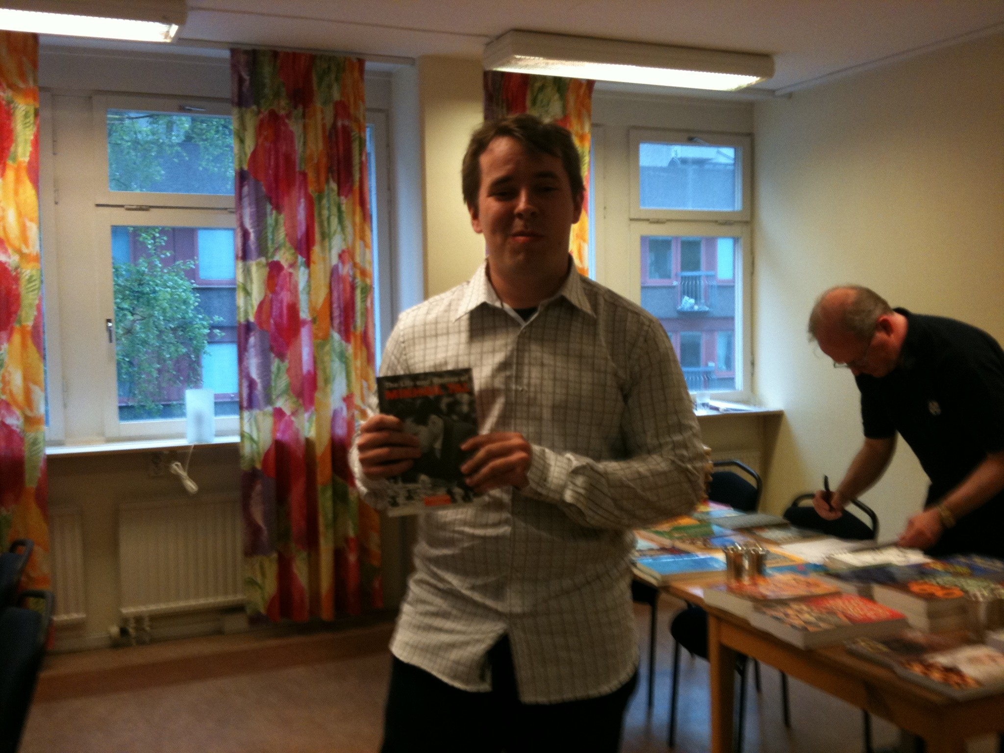 Veteranmärket i brons: Jonas Bengtsson, 10 år som manhemit.