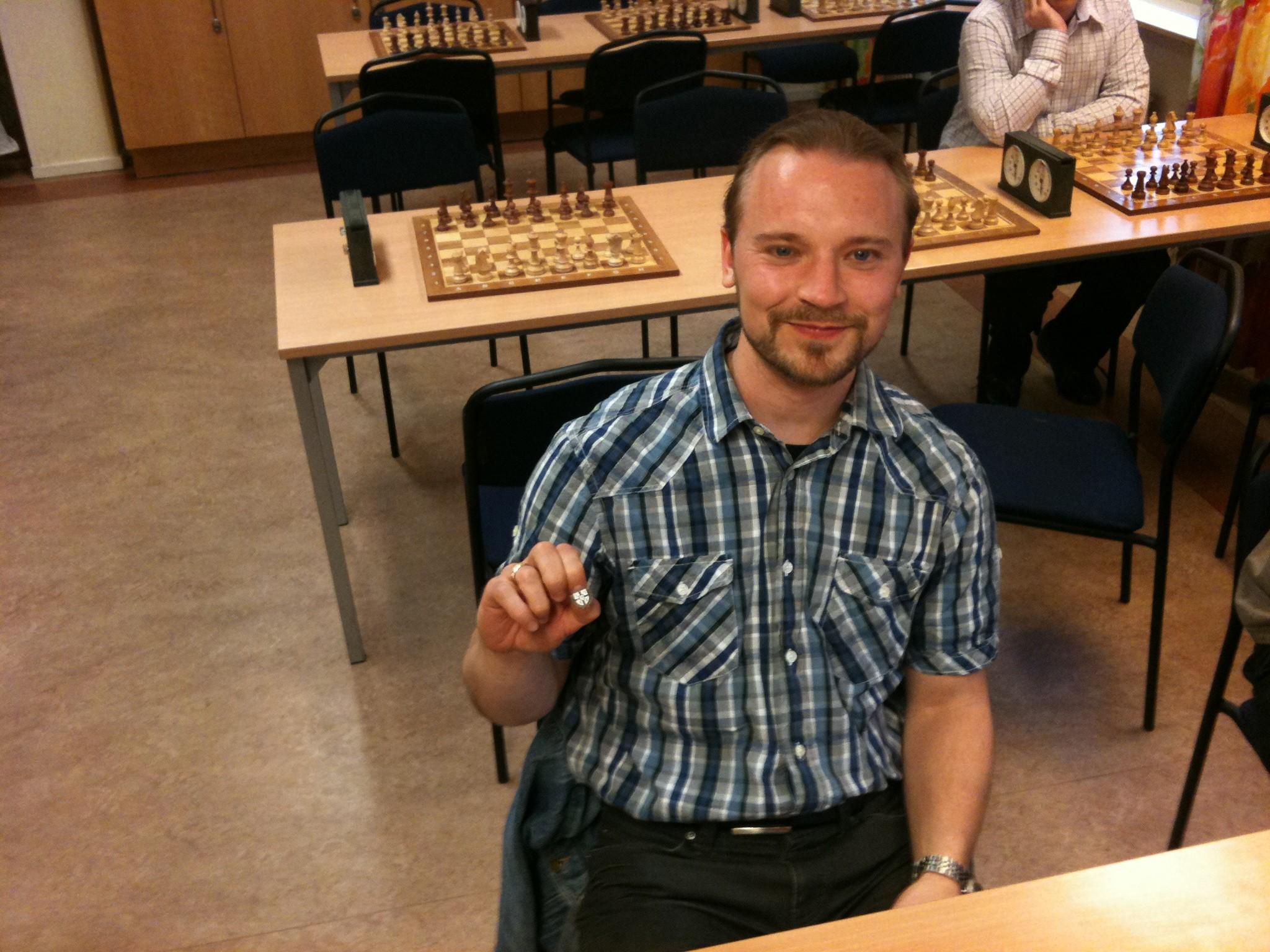 Veteranmärket i brons: Patrik Abrahamsson, 10 år som manhemit.
