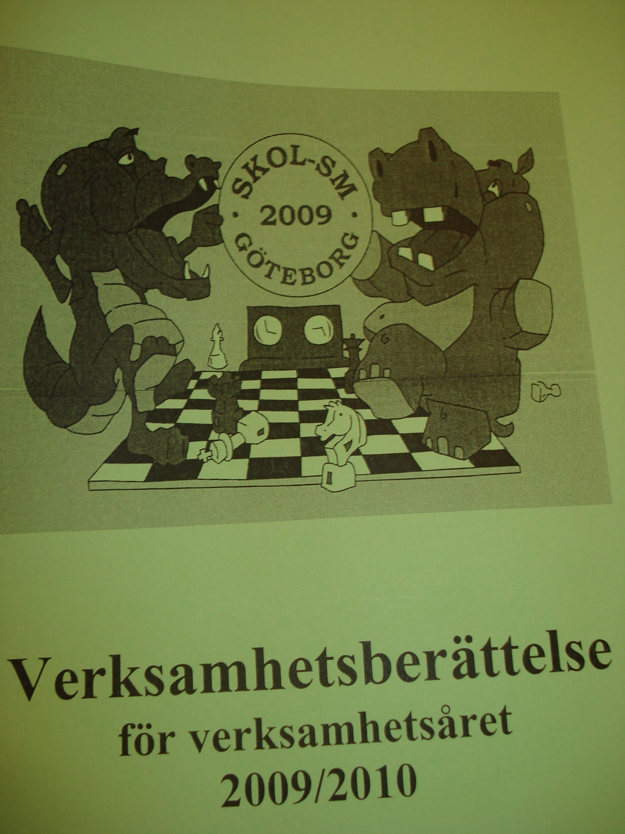 Krokis och Flodis förgyllde såväl Skol-SM  2009 som klubbens verksamhetsberättelse.