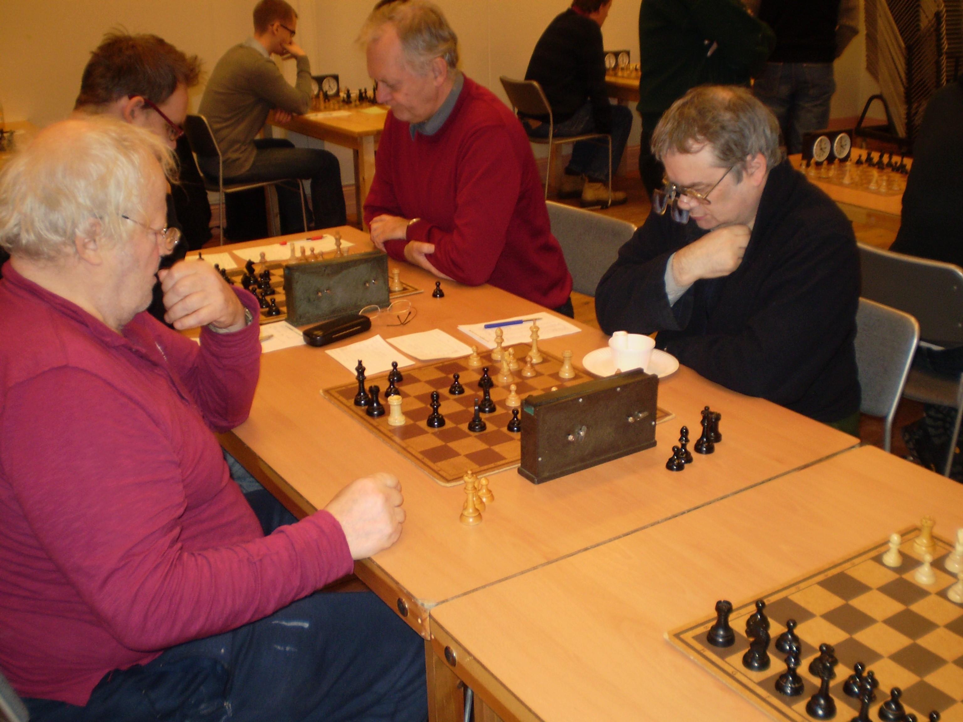Till Hisingen Opens trogna gäster hör Lars Bergström (t.h.).