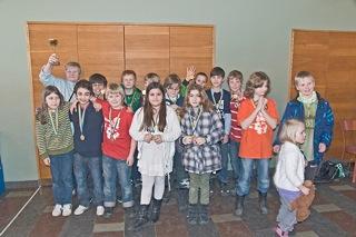 Manhemiter till Schack4an-final: Guldhedsskolans klass 4C