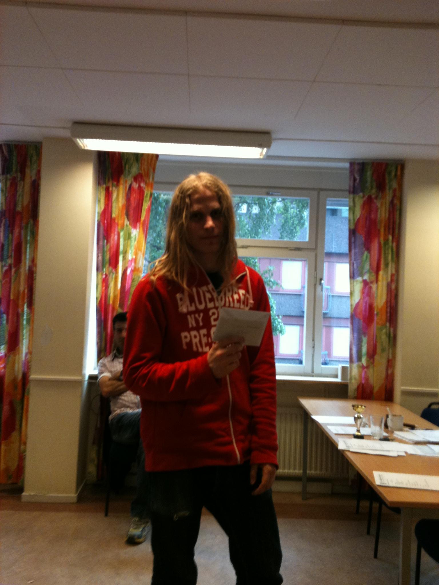 Jens Lundell upprepade fjolårets VM-seger!