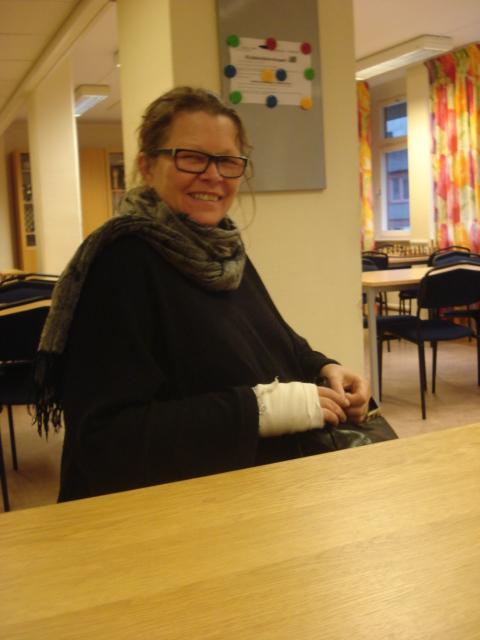 Nyvald i Manhems styrelse: Madeleine Strandberg, schackförälder.