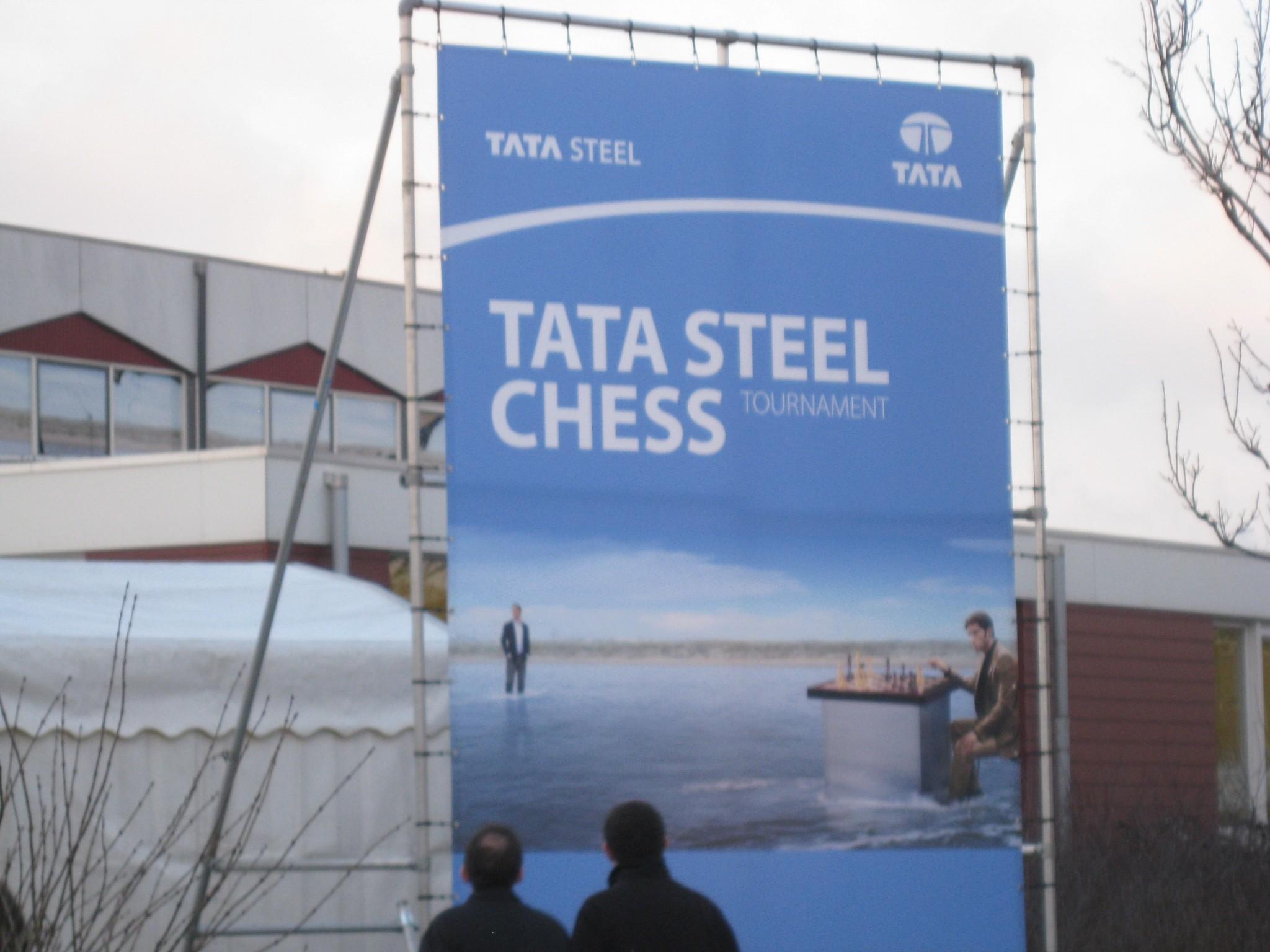 Wijk aan Zee - reklam för turneringen