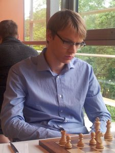 GM Erik Blomqvist in action!